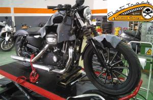 Cambia las ruedas de tu moto