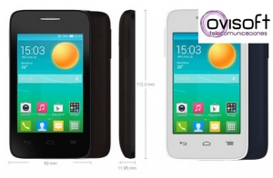 Móvil - Alcatel One Touch POP D1, 4GB, Dual SIM