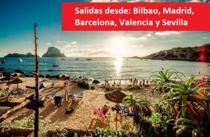 Ibiza: 5 o 7 noches con vuelo de i/v + traslados