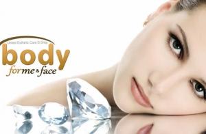Tratamiento facial con punta de diamante