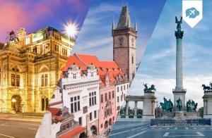 Praga + Viena + Budapest 8 días