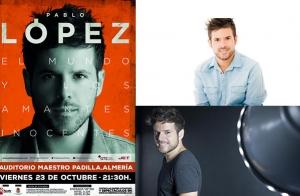 Pablo López en concierto