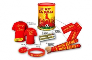¡Consigue ya tu kit de La Roja!