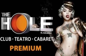 The Hole. Entradas Premium. Miércoles 05/11